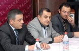 Press conference of Armenian horse racing federation